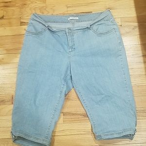 Lee slender secret jean capri pants